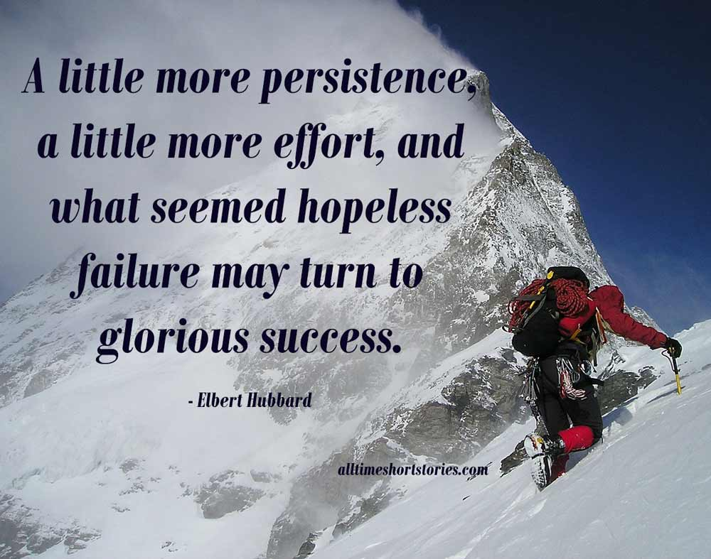 Inspirational Quote about Persistence