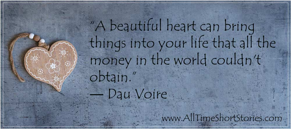 Quote about beautiful heart